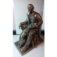 Скульптура Некрасов с собакой с 1 рубля без МПЦ
