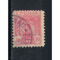 Сербия Кор 1901 Александр I Стандарт #54
