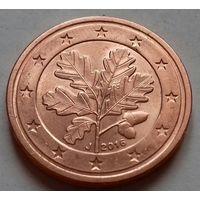 2 евроцента, Германия 2016 J, UNC