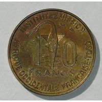 Франц. Того 10 Фр.1957 (14)
