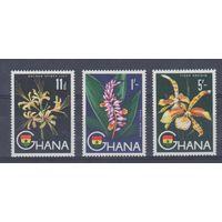 [1506] Гана 1959. Флора.Цветы.Орхидеи.