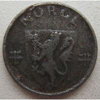 Норвегия 1 эре 1943 г.