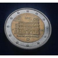 Германия 2 евро 2017 Рейнланд-Пфальц