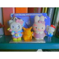 Hello Kitty (Sanrio) и ее друзья покемоны