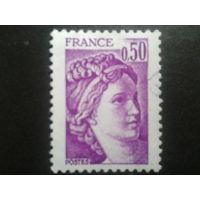Франция 1978 стандарт 0,50