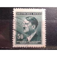 Богемия и Моравия 1942 фюрер 50г