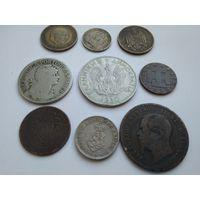 Набор монет старой Европы до 1950 года