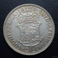 ЮАР. 2,5 шиллинга 1953 г.