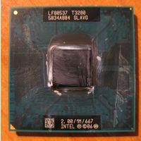 Процессор для ноутбука Intel T3200