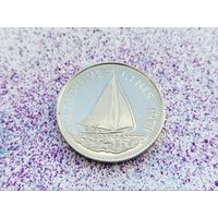 Багамские острова (Багамы). 25 центов 1973.