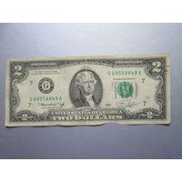 2 доллара США 1976 г., G 69558849 A