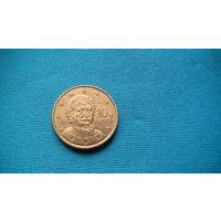Греция 10 центов 2009г. распродажа