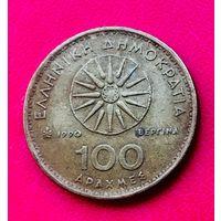07-09 Греция, 100 драхм 1990 г.