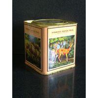 Коробка банка от чая жестяная Индия 70-е гг