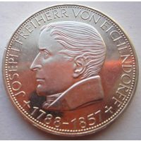 ФРГ. 5 марок 1957 J. Серебро. 263