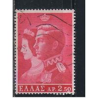 Греция Кор 1964 Коронация Константина II и Анны-Марии Датской #861