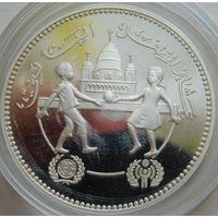 40. Судан 5 динаров, серебро*