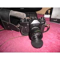 Фотоаппарат Зенит ЕТ,с объективом Гелиос 44-2.