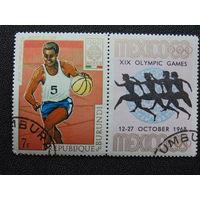 Бурунди 1969г. Спорт.