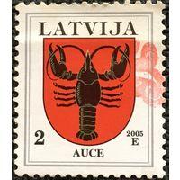 ЦІКАВІЦЬ АБМЕН! 2005, герб Аўцэ, 2 сантыма