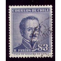 1 марка 1956 год Чили 508