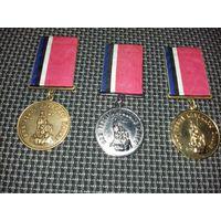 """Редкость. Медали """"За заслуги перед Эстонским Казачеством""""  1, 2, 3 степени"""