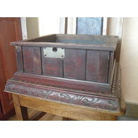 Ящик от граммофона.