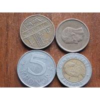 Четыре монеты  за 0.99   ..13