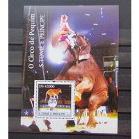 Сан Томе и Принсипе 2004г. Цирк Пекин