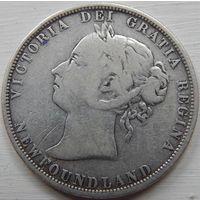 25. Ньюфаундлен 50 центов 1882 год*