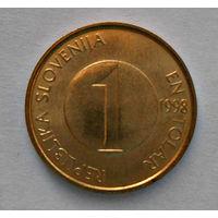 Словения, 1 толар, 1998 г.