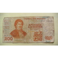 Греция 200 драхм 1996г.   распродажа