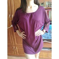 Блуза шикарного цвета р.52-54