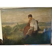 Бандурист , музыкант ,картина