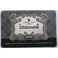Подставка под пиво Lindemans /Бельгия/