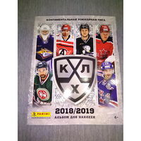 Альбом для наклеек panini КХЛ 2018-2019
