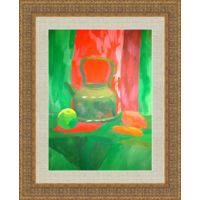 Картина натюрморт с чайником