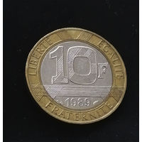10 франков 1989 Франция #01