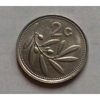 2 цента, Мальта 1991 г.