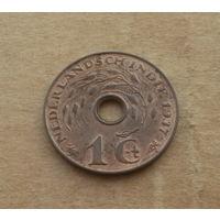 Нидерландская Индия (Индонезия), 1 цент 1937 г.