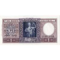 Аргентина, 1 песо, 1947 г., UNC