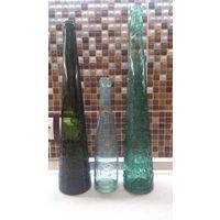 Бутылки РИ-Бр.Лекертъ(колосья) ,Л.Померанецъ Въ Пружанахъ , Калинкинъ.