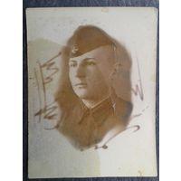 Фото военного. 1941 г. 6х7.5 см.