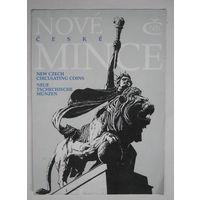 Буклет по монетам Чешской Республики 1993 г.
