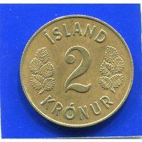 Исландия 2 кроны 1958