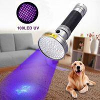 Ультрафиолетовый фонарик на 100 диодов