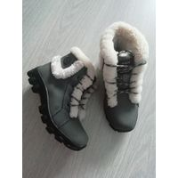 Зимние кроссовки на меху на 38р-р