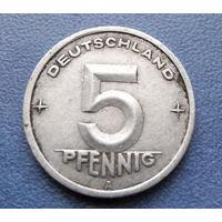 5 пфеннигов 1949 год (А) ГДР #02