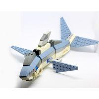Акула LEGO, с инструкцией.
