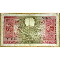 20 бельгас/100 франков 1943г